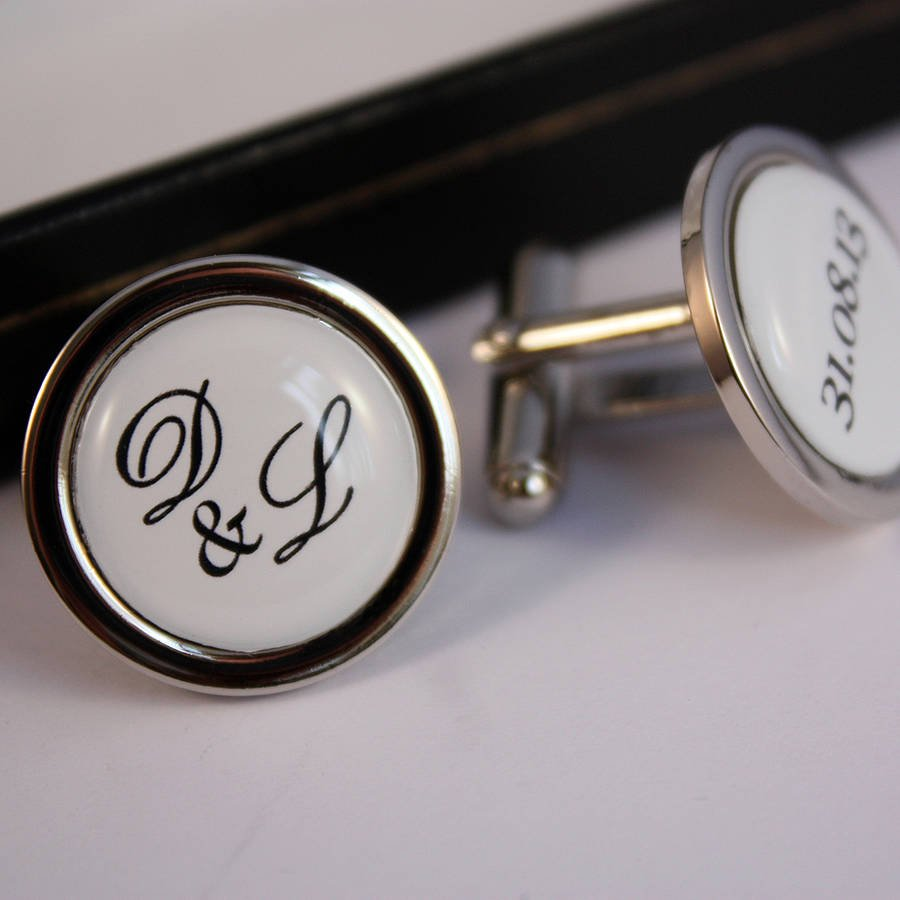 8 Father of the Bride Gift Ideas - Cufflinks | CHWV