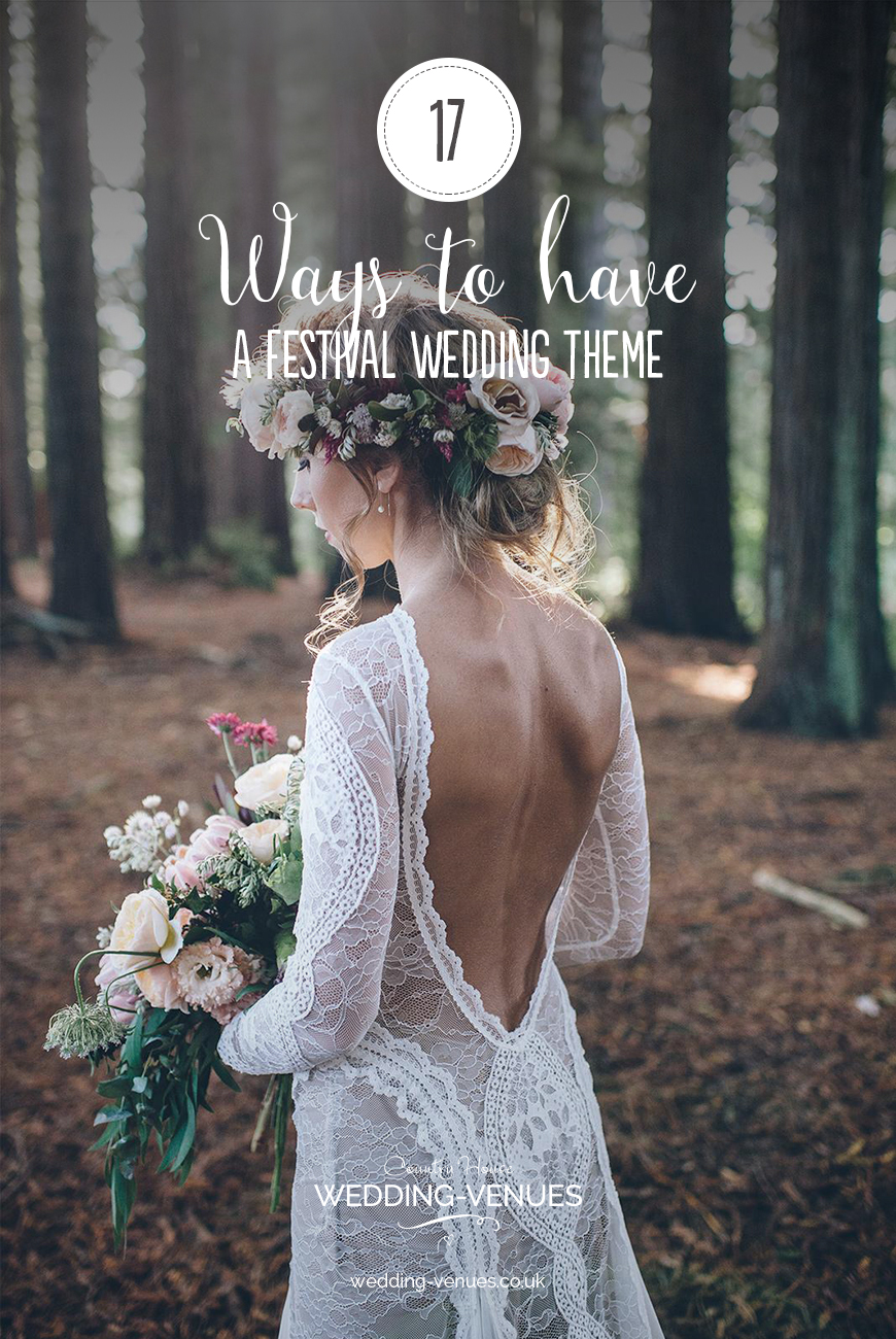 17 Ways To Have a Festival Wedding Theme | CHWV