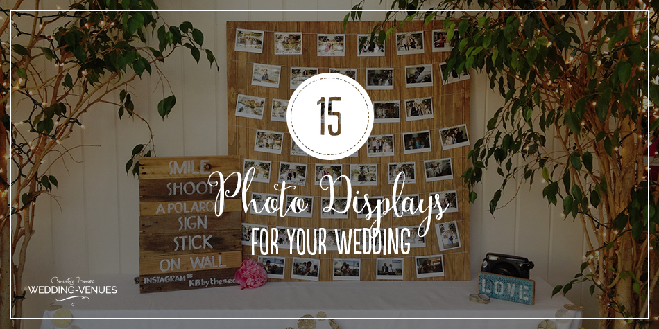 15 Fun Ways To Creatively Display Photos At Your Wedding Chwv