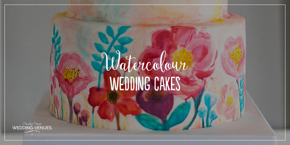 Wedding Venues What You Need For A Large Wedding: Why You Need A Watercolour Wedding Cake On Your Big Day
