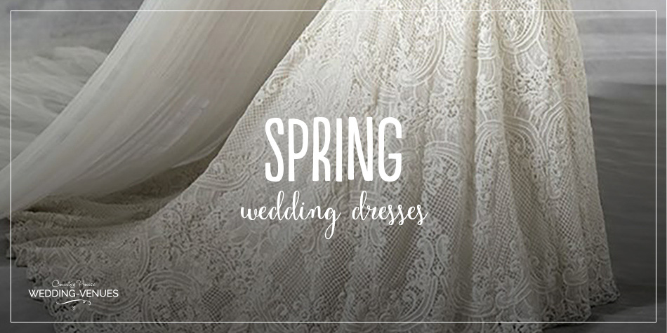 Whether you're looking for something vintage in style or a dress that's modern and unique, there are plenty of options available in our pick of the best spring wedding gowns…