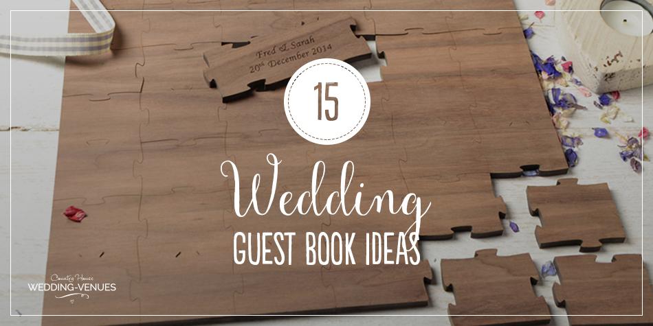 15 amazing wedding guest book ideas