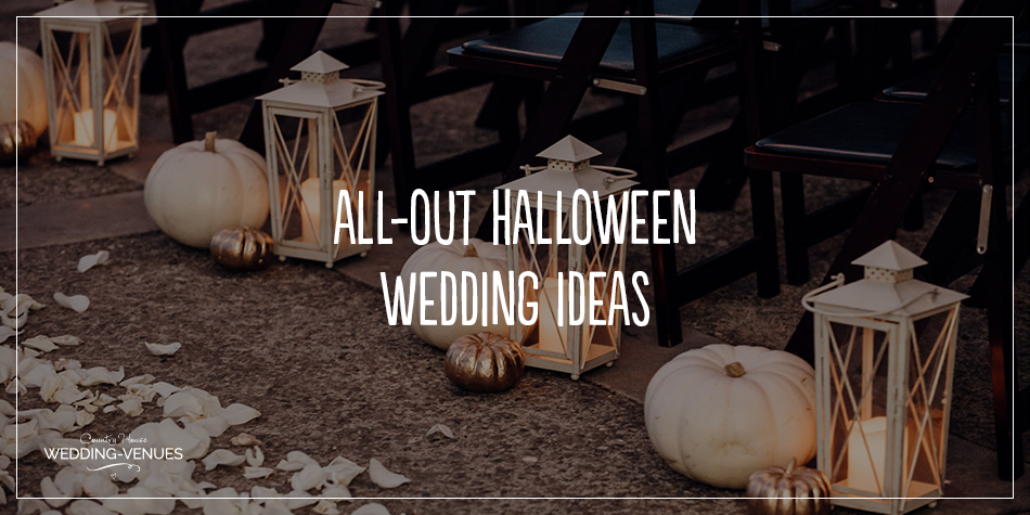 All Out Halloween Wedding Ideas Chwv