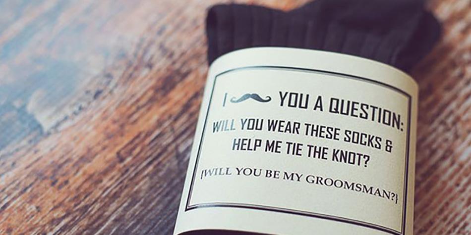 Alternative ways to ask your groomsmen chwv junglespirit Gallery