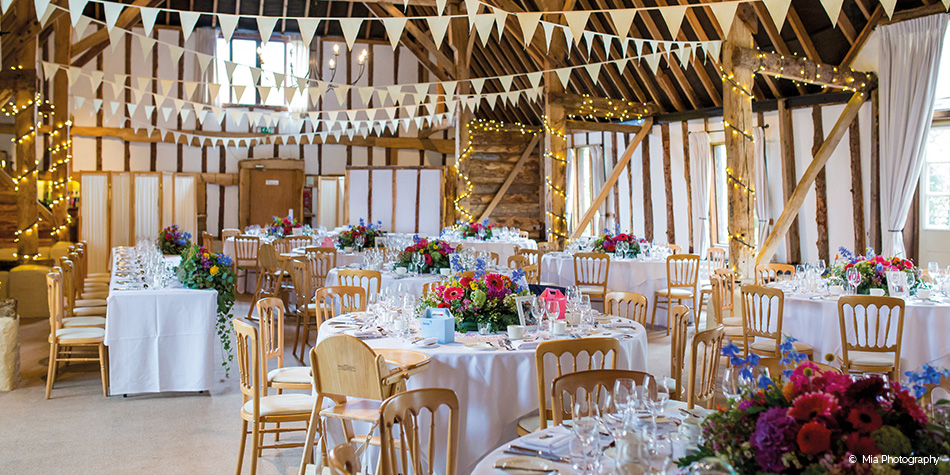 Rustic Wedding Decorations Michaels : Becca and michael s colourful wedding at clock barn