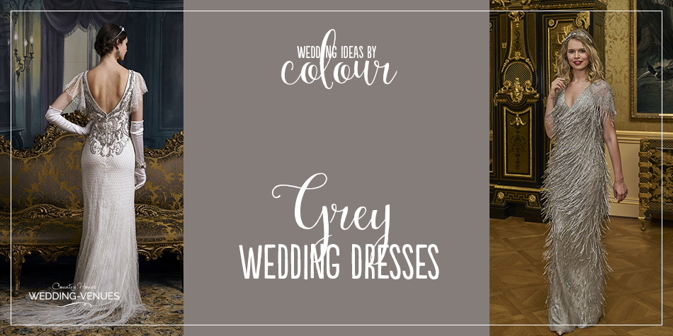 It might not sound like the obvious colour choice for your wedding, but grey is surprisingly sophisticated and elegant. If you're considering a grey wedding theme, why not extend it to a grey wedding dress, choosing a soft, delicate tone that flatters. Of course, you might even take it one step further and choose a stunning silver gown for an evening wedding.