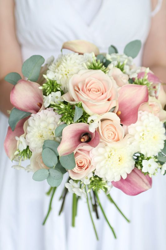 Silk Wedding Flowers Leicestershire : Pastel pink wedding flowers chwv