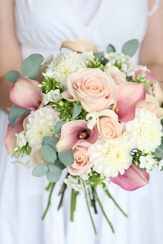 Pastel Pink Wedding Flowers | CHWV