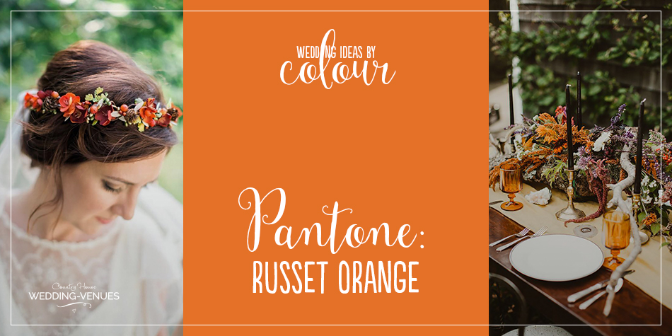If there's one colour that is the perfect shade for autumn, it has to be orange. The gorgeous Russet Orange is another of Pantone's colourful predictions for the year and when you see how beautiful an orange wedding theme is, you'll love this shade too. We've gathered together our favourite orange wedding ideas for you right here so, for a shortcut to seasonal goodness, read on and be prepared to pin…