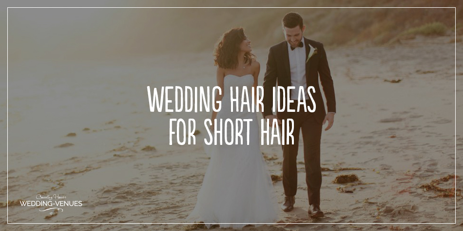 Choosing your dress is only the first hurdle when it comes to your bridal preparations – there's still the accessories, makeup and wedding hairstyles to consider. Here, we bring you some of the best short wedding hair ideas for every style of bride. Which one could work for your own dream day?