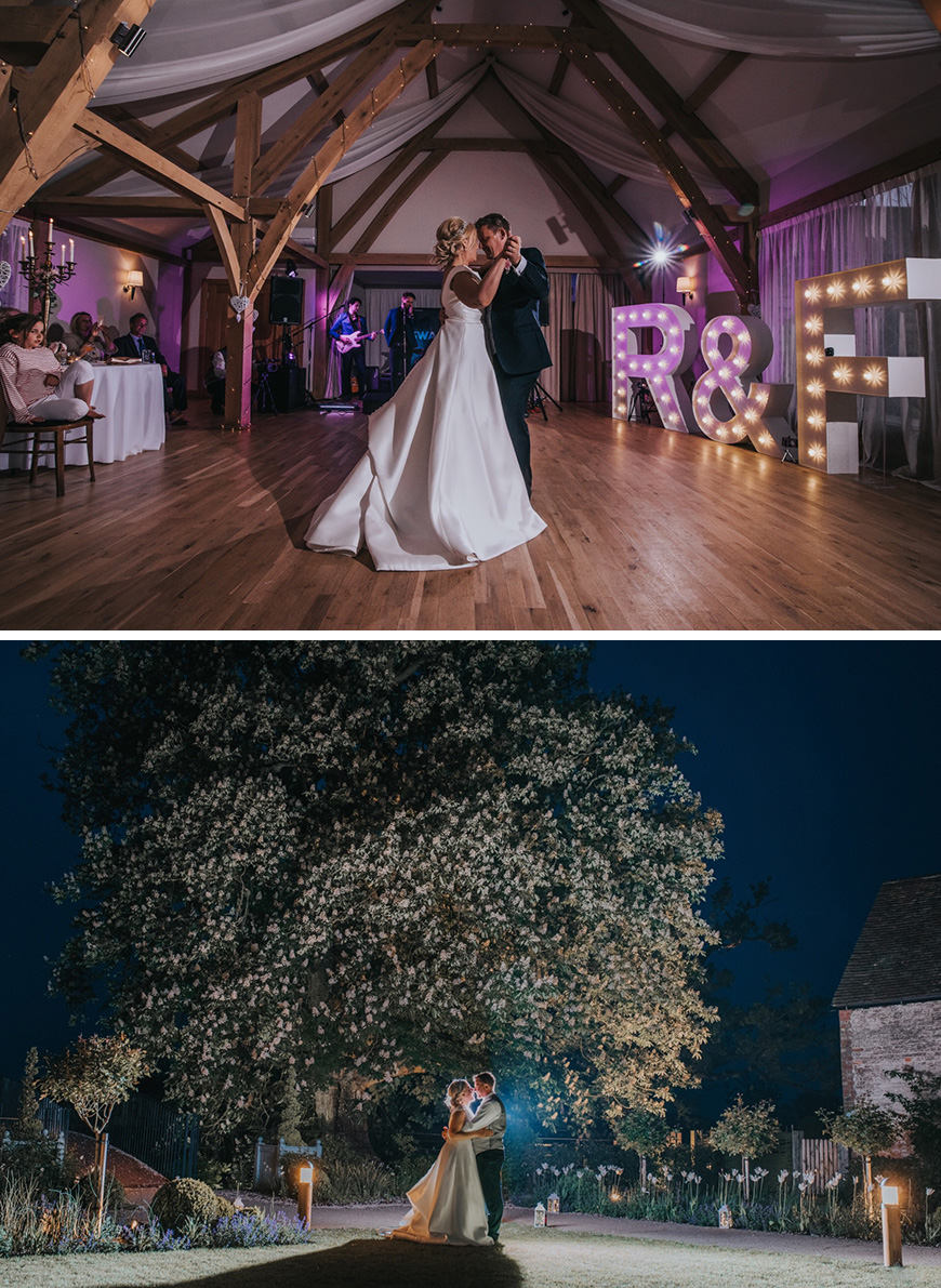 Real Wedding - Fiona & Ross's Glamorous Spring Wedding at Bassmead Manor Barns | CHWV