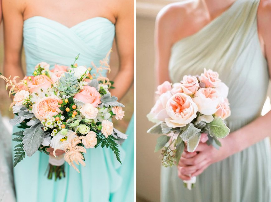 Neo Mint Green Wedding Ideas - Flowers | CHWV