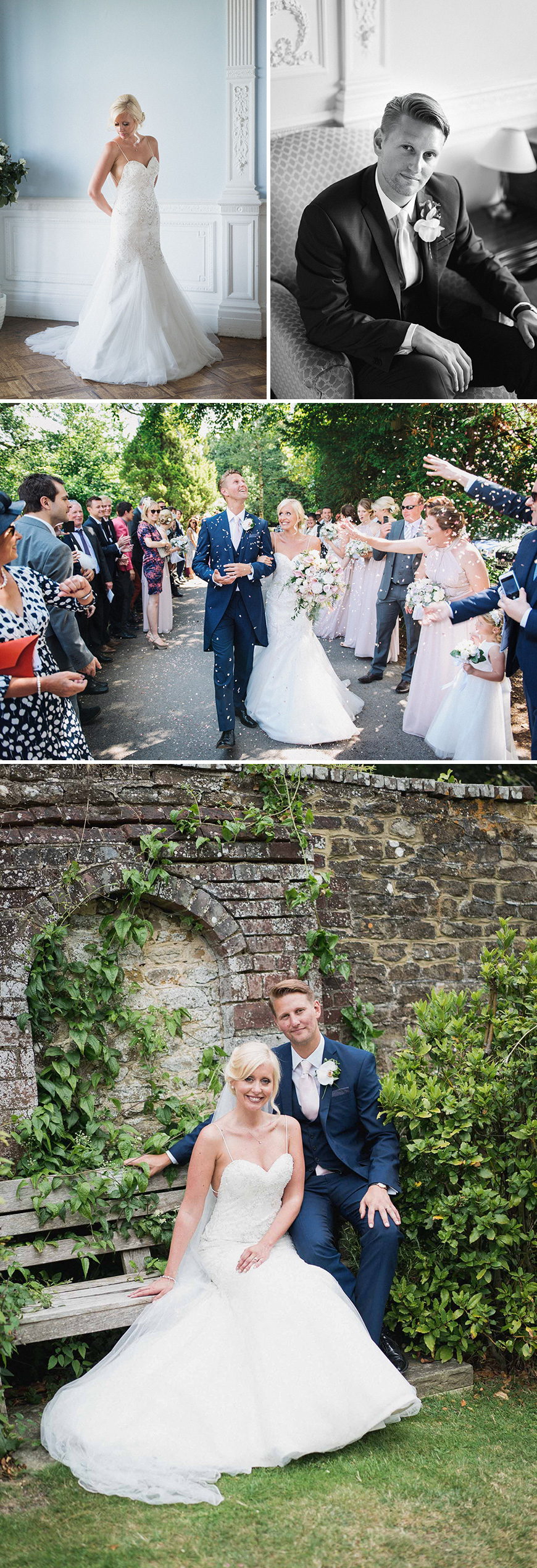 Real Wedding - Gemma and Jack's Fun-Filled Wedding At Frensham Heights | CHWV