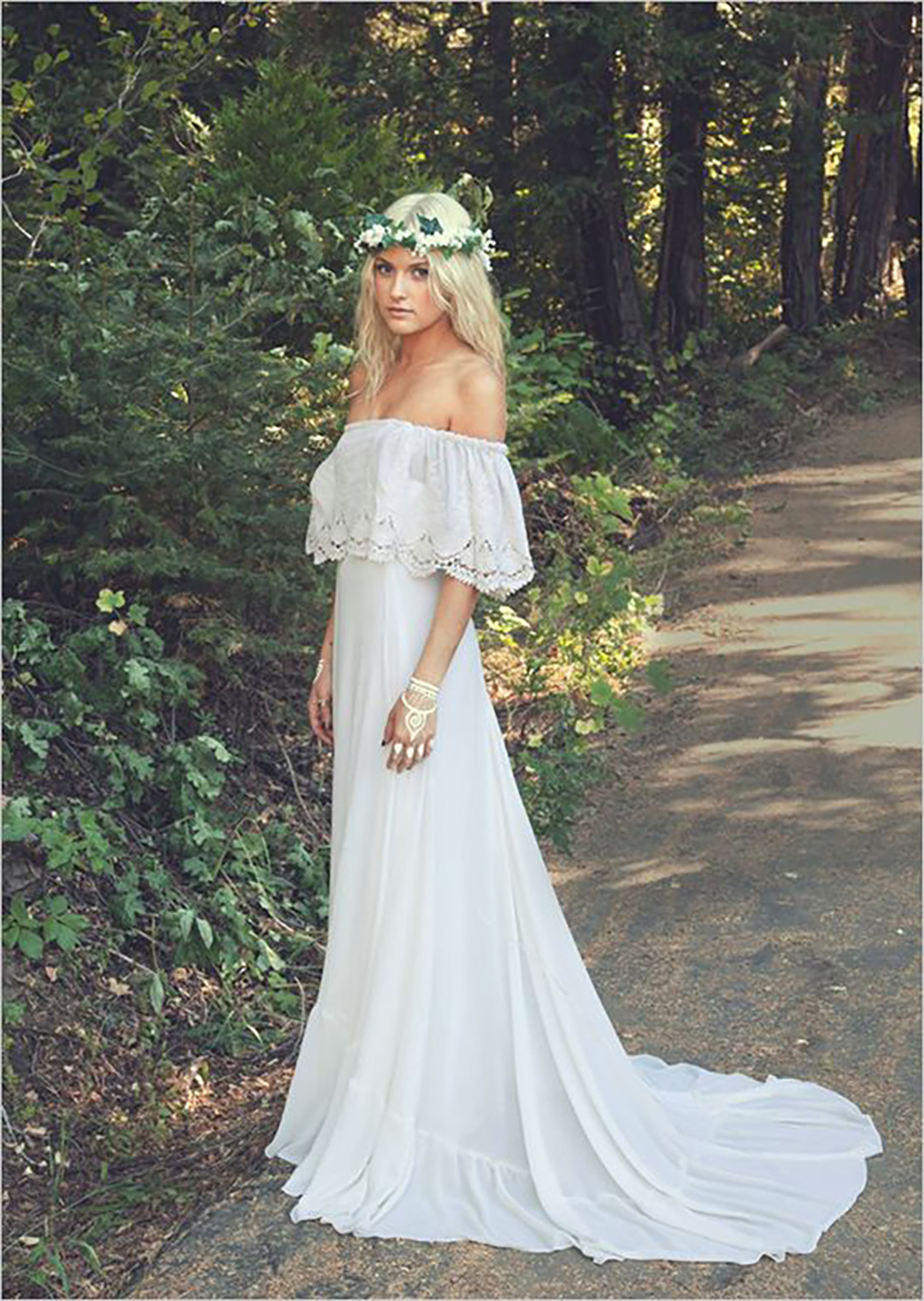 How to create the perfect Glastonbury inspired wedding - Dress | CHWV