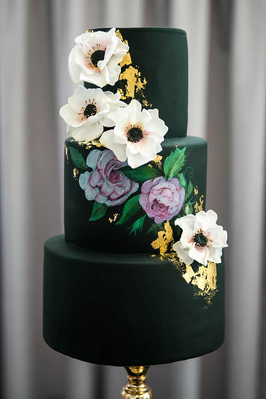 Green Wedding Cakes Wedding Ideas By Colour Chwv