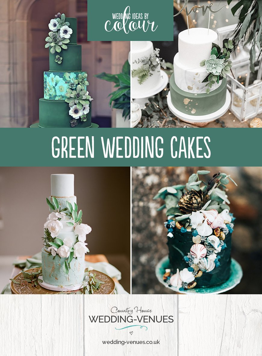 Green Wedding Cakes Wedding Ideas By Colour Chwv