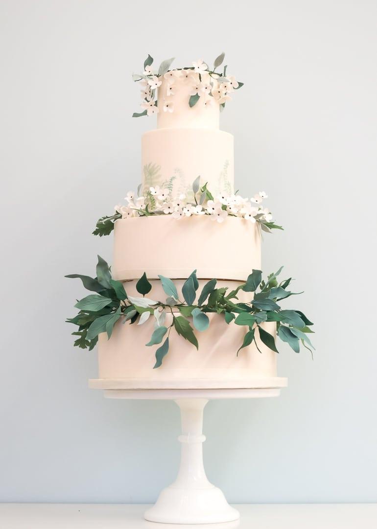 Green Wedding Cakes