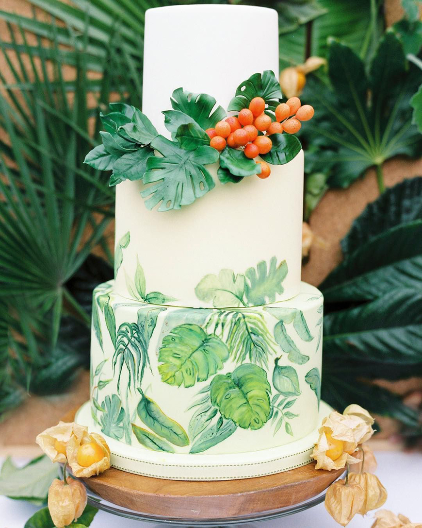 Green Wedding Ideas: Wedding Ideas By Colour