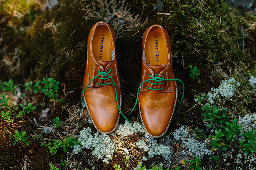 Wedding Ideas By Colour: Green Groom's Accessories - Shoes | CHWV