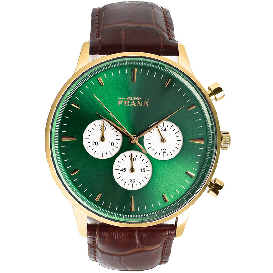 Wedding Ideas By Colour: Green Groom's Accessories - Watches | CHWV
