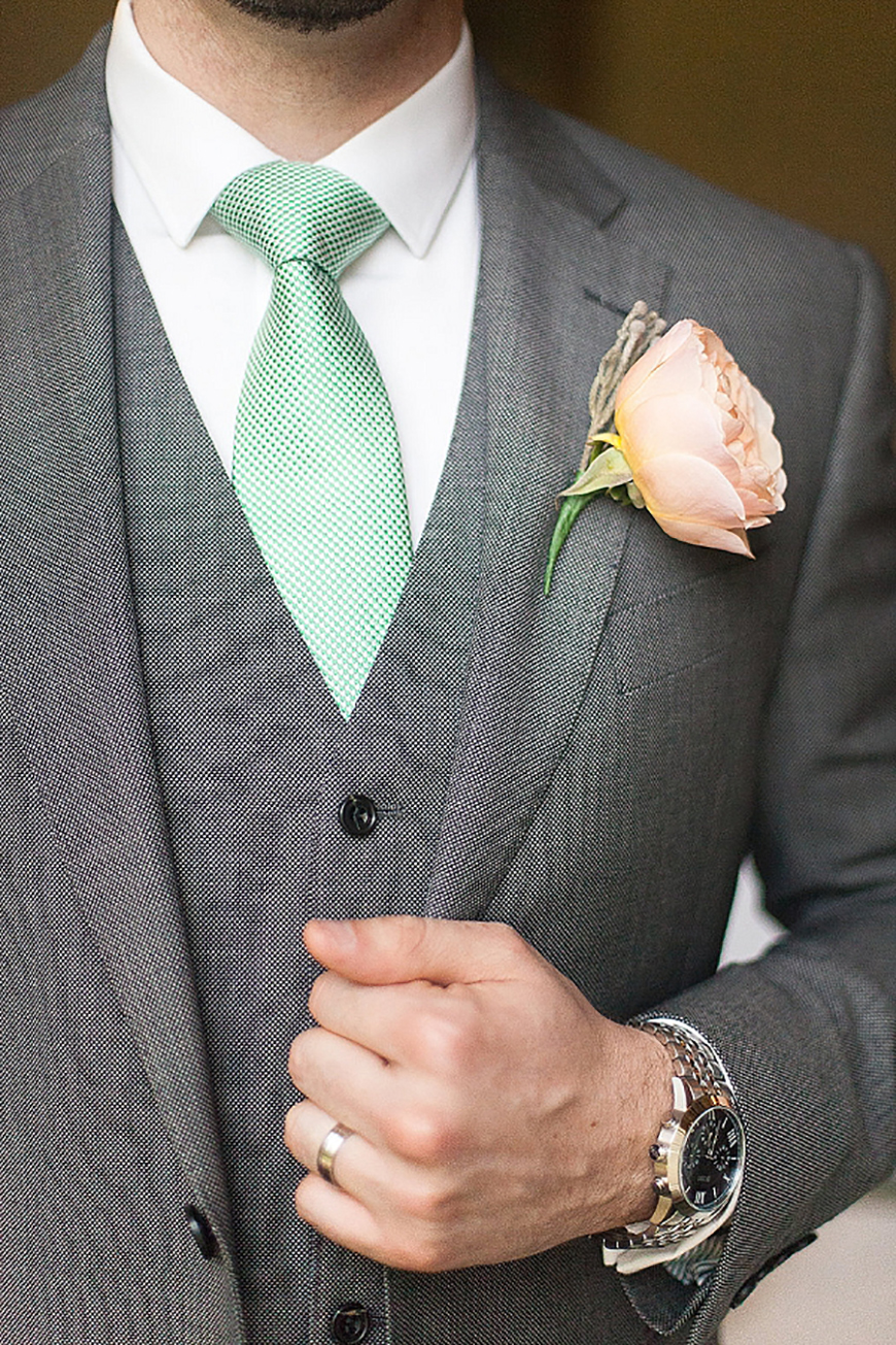 Wedding Ideas By Colour: Green Groom's Accessories - Ties | CHWV