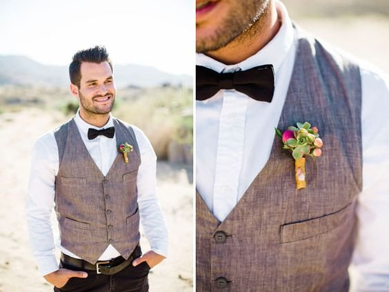 How to style the boho groom and groomsmen | CHWV