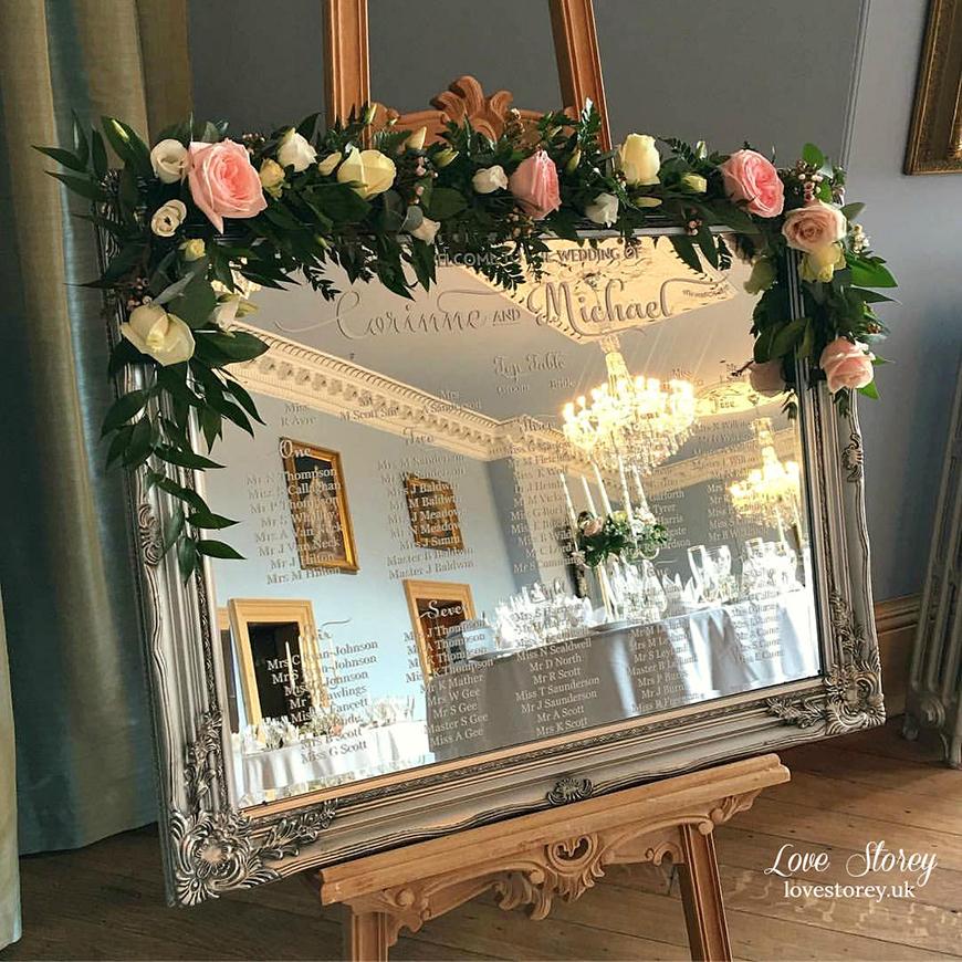 Wedding Ideas By Colour: Grey Table Plans | CHWV
