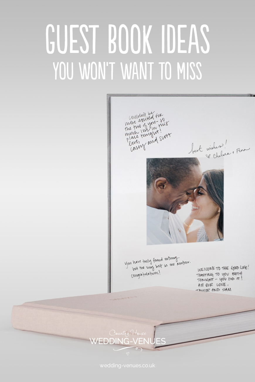 Guest Book Ideas You Won't Want To Miss | CHWV