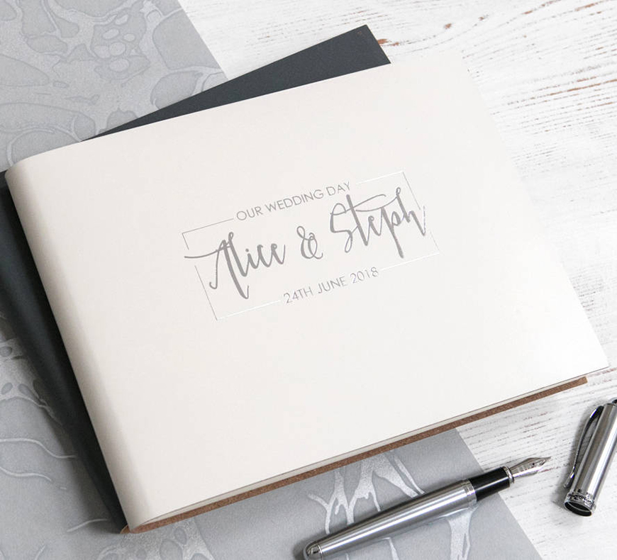 Guest Book Ideas You Won't Want To Miss - Floral guestbook | CHWV