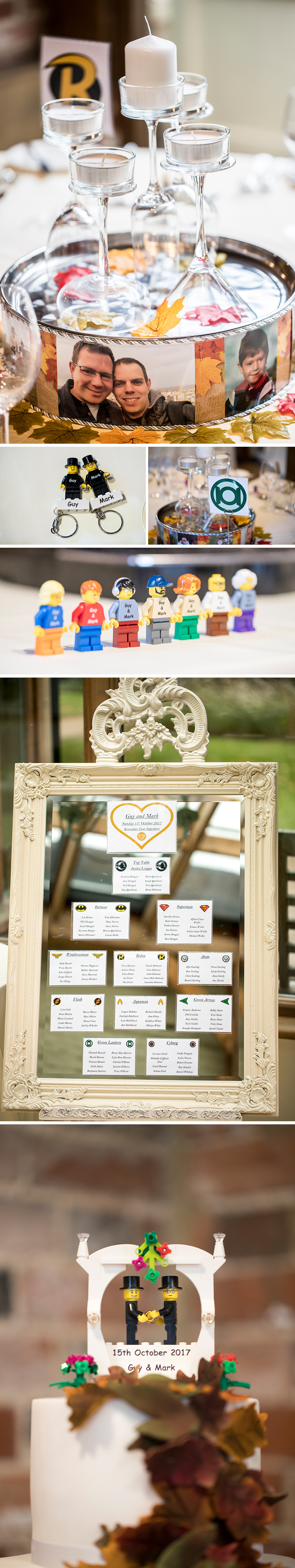 Real Wedding - Guy and Mark's Idyllic Autumn Wedding at Gaynes Park | CHWV
