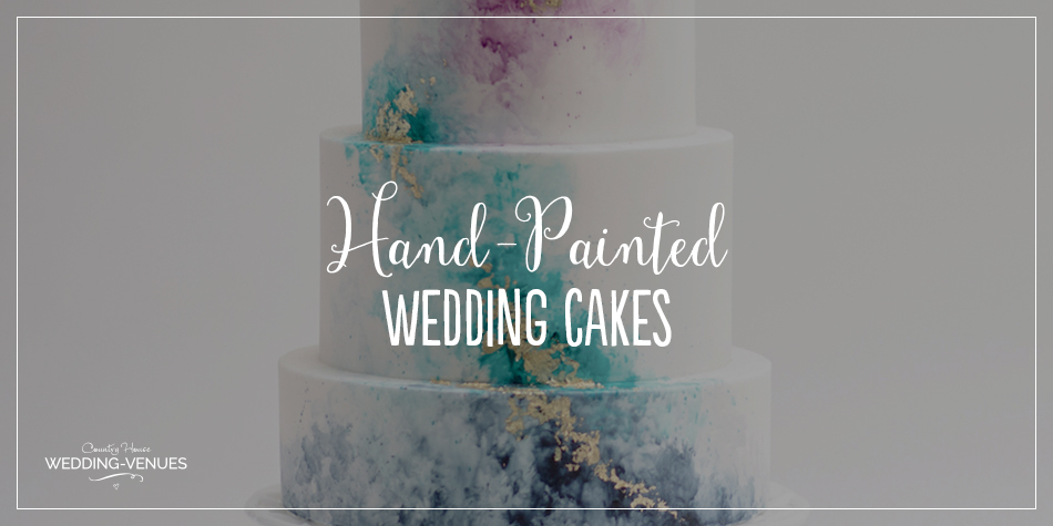 It's going to be on display all day, so why not make your wedding cake a centrepiece in its own right? Take inspiration from these stunning painted wedding cakes to take your guests' breath away.