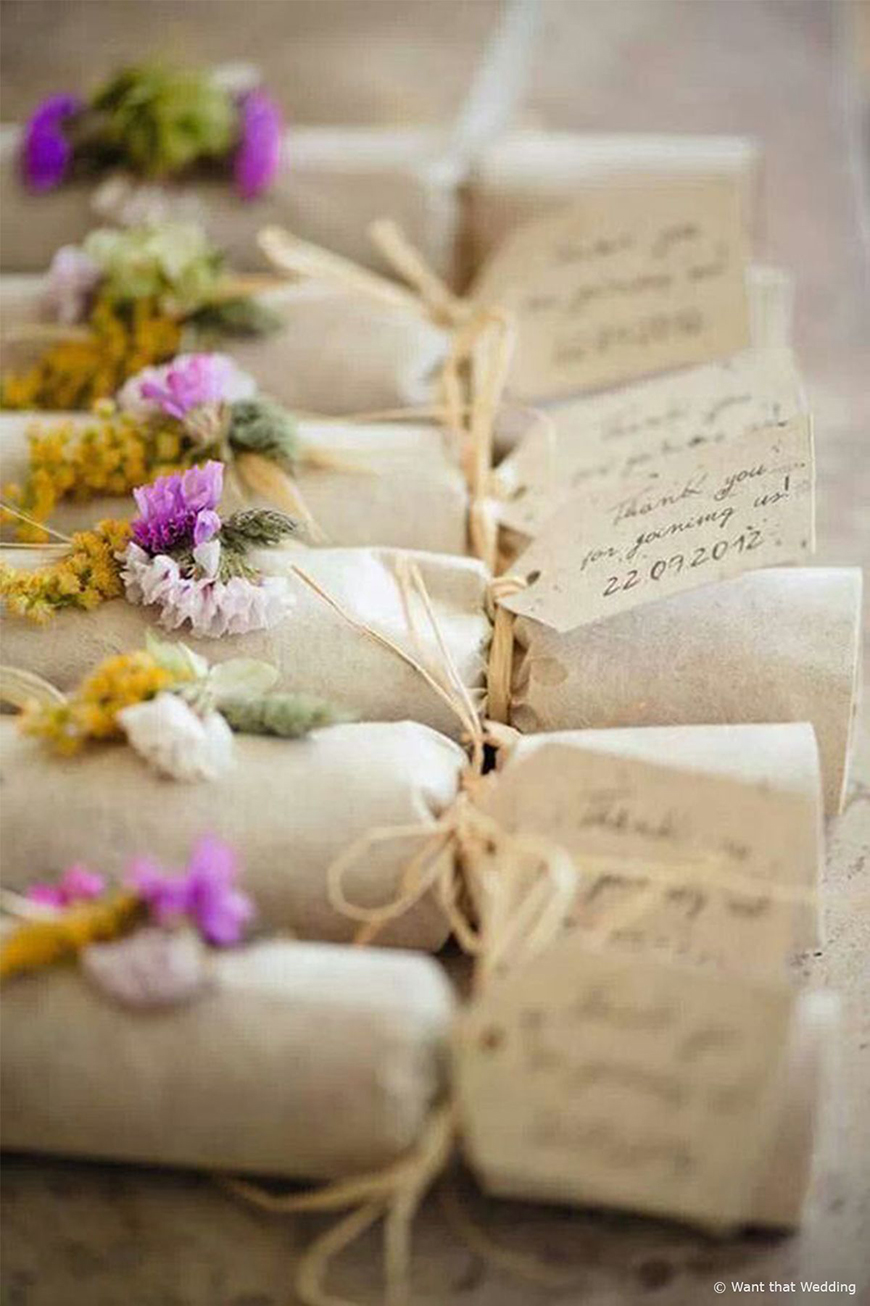 Handmade Wedding Favours | CHWV