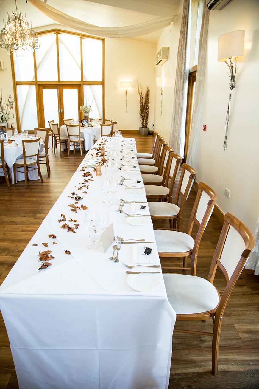 Hannah and Gareth's real life wedding at Mythe Barn | CHWV