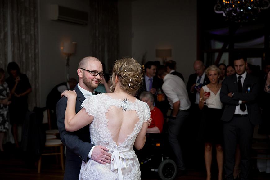 Hannah and Gareth's real life wedding at Mythe Barn - First dance | CHWV