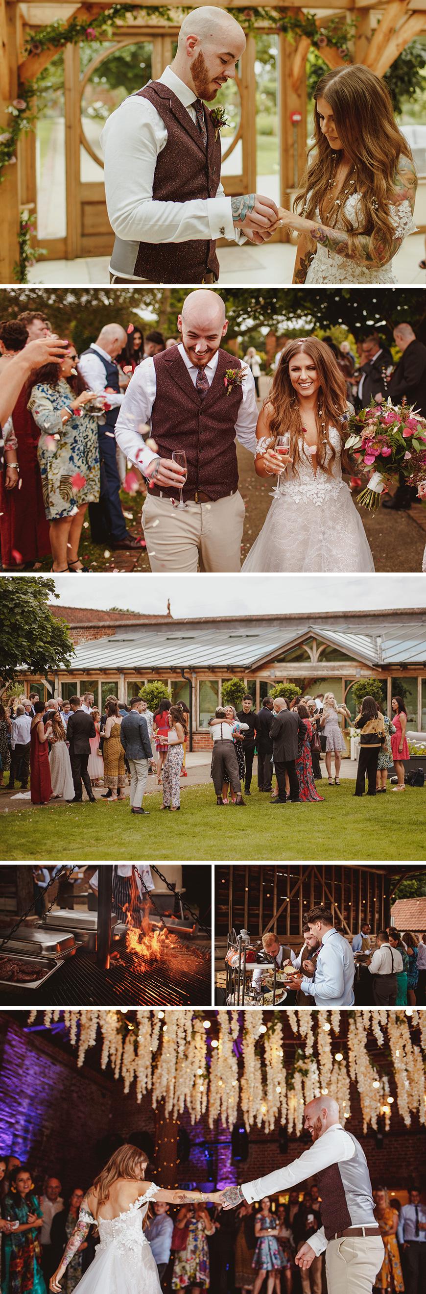 Real Wedding - Hannah & Tommy's Summer Woodland Wedding at Gaynes Park | CHWV