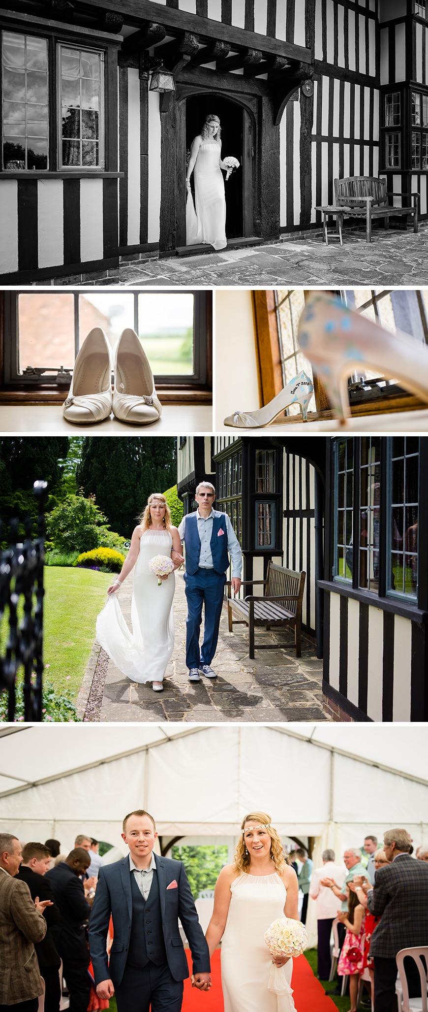 Hayley and Scott's Garden Party Wedding at Brewerstreet Farmhouse | CHWV