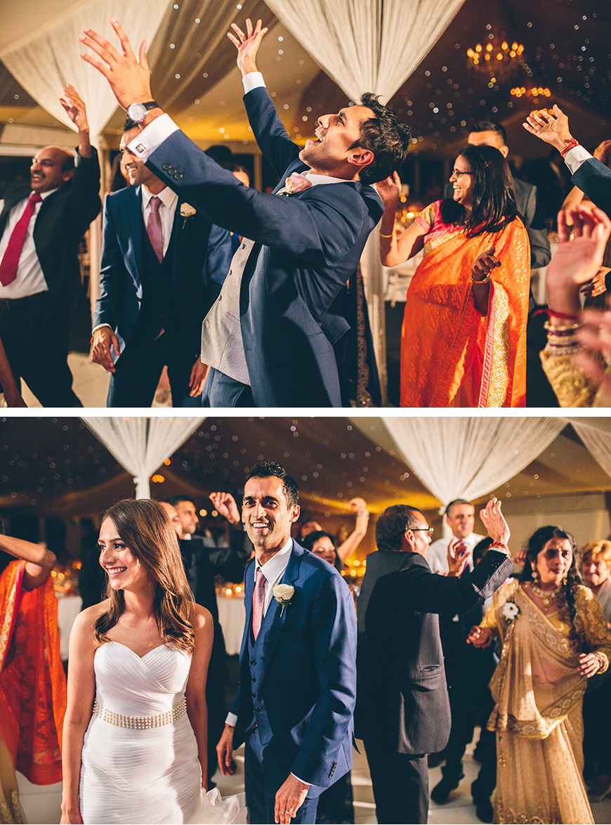 Real Wedding - Hayley and Umesh's Romantic Summer Wedding at Combermere Abbey | CHWV