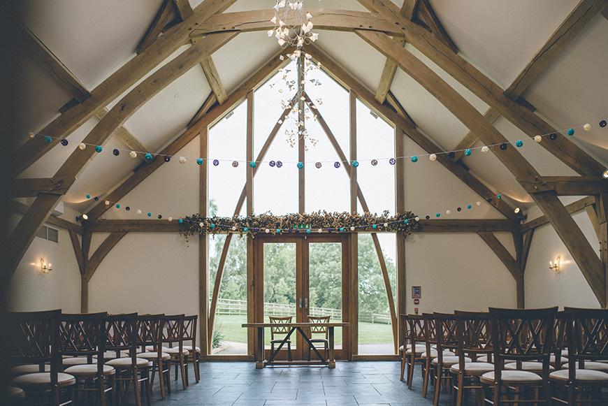 Real Wedding - Hazel and Chris' DIY Barn Wedding at Mythe Barn | CHWV