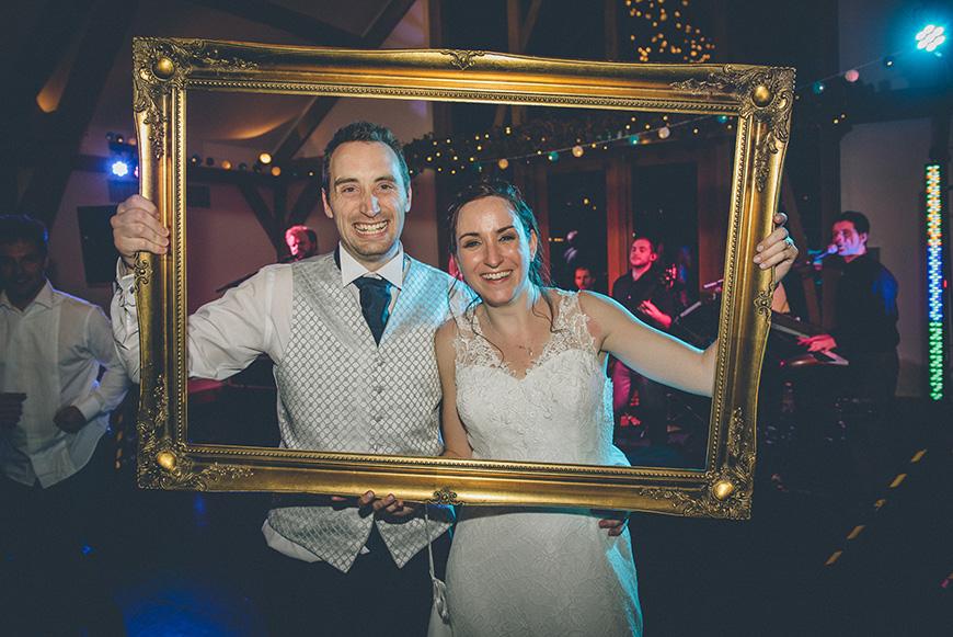 Real Wedding - Hazel and Chris' DIY Barn Wedding at Mythe Barn - Framed | CHWV