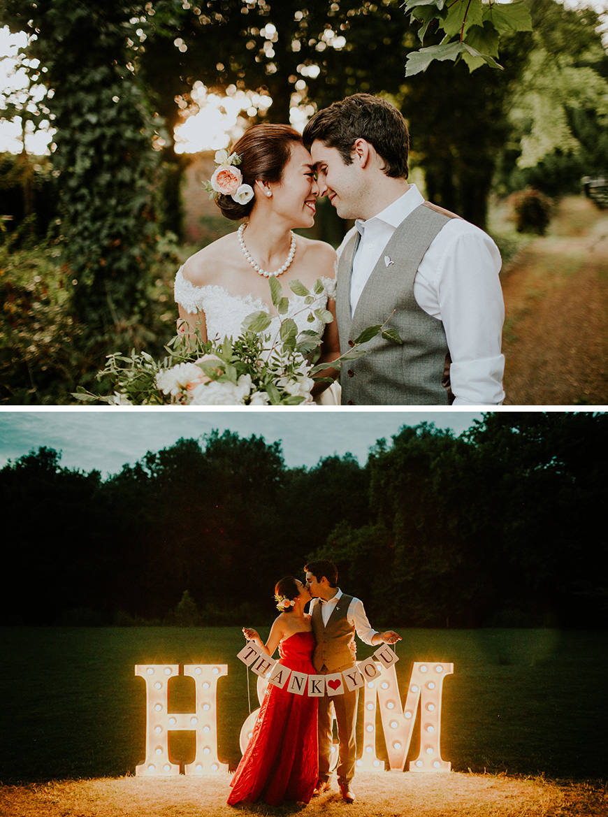 Real Wedding - Hazel and Michael's Elegant City Wedding at Morden Hall | CHWV