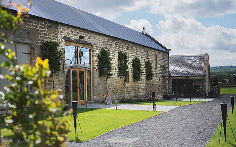 Rustic Wedding Venue In Northumberland Healey Barn Chwv