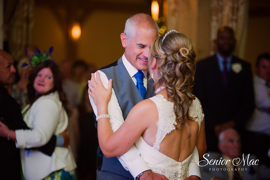 Heather and Stuart's real life wedding at Rivervale Barn - First dance | CHWV