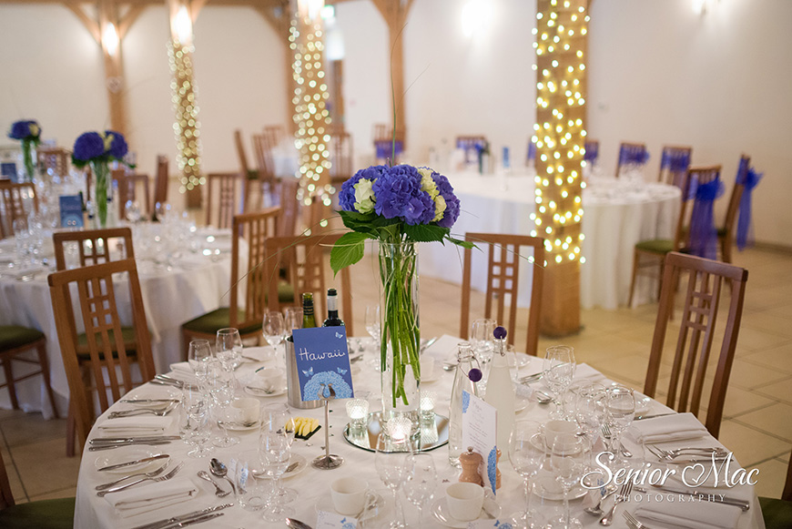 Heather and Stuart's real life wedding at Rivervale Barn - Flowers | CHWV