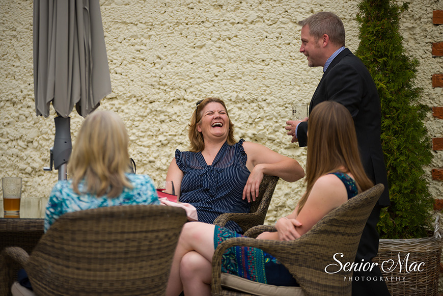Heather and Stuart's real life wedding at Rivervale Barn - Guests | CHWV