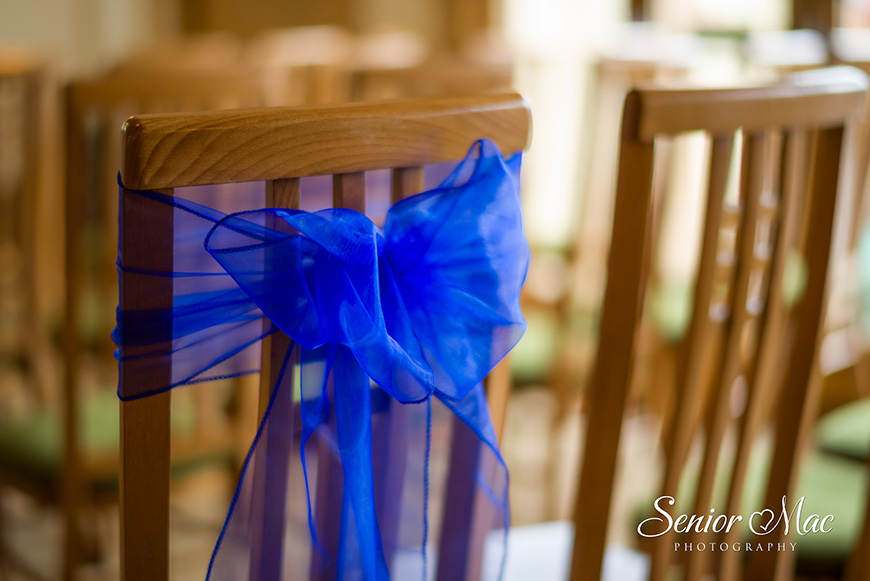 Heather and Stuart's real life wedding at Rivervale Barn - Sashes | CHWV
