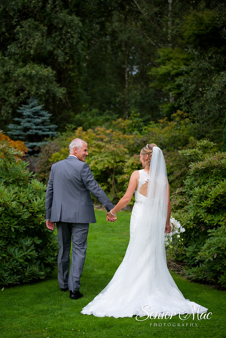 Heather and Stuart's real life wedding at Rivervale Barn - Stroll | CHWV