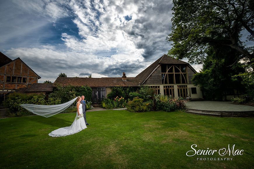 Heather and Stuart's real life wedding at Rivervale Barn - Venue | CHWV