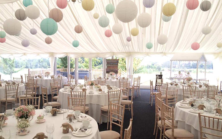 11 Marquee Wedding Venues You Won't Want To Miss - High House Weddings | CHWV