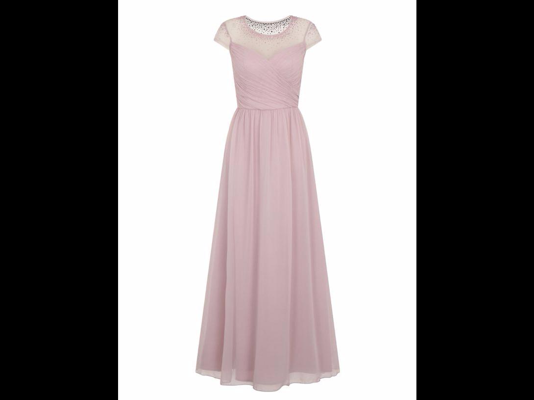 Purple bridesmaid dresses uk high street bridesmaid dresses for Tk maxx dresses for weddings