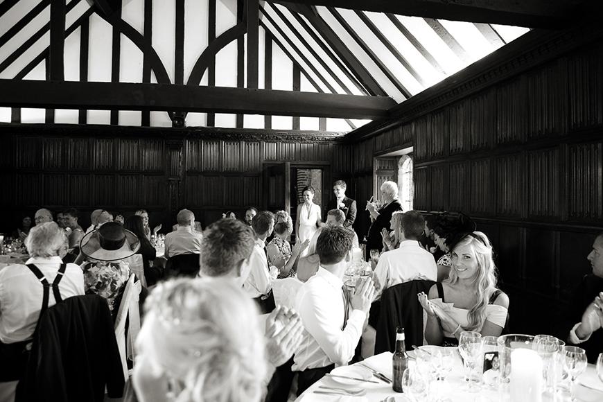 A classic Summer Country House Wedding in Essex - Wedding breakfast | CHWV